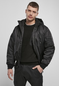 Brandit BD3150 - Hooded MA1 Bomber Jacket