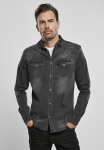 Brandit BD4020 - Riley-Denim-Hemd