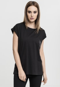 Build Your Brand BY021 - Ladies Extended Shoulder Tee