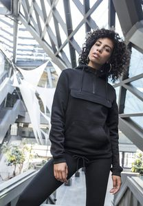 Build Your Brand BY097 - Ladies Sweat Pull Over Hoody