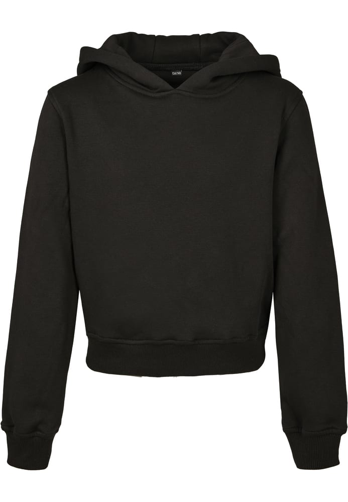Build your Brand BY113 - Girls Cropped Sweat Hoody