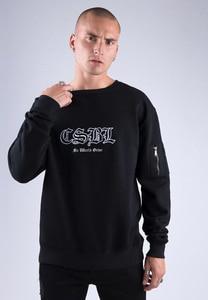 CS CS1595 - CSBL Arise Crewneck black/white XXL