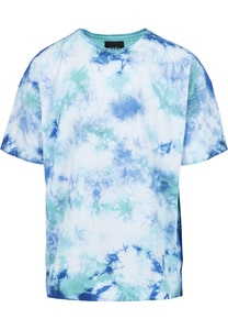 CS CS1965 - CSBL Meaning Of Life Tie Dye Box Tee white/blue