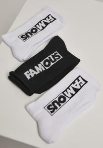 Famous FA059 - Famous Socks 3-Pack