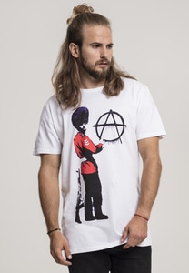 Merchcode MC094 - Brandalised - Banksy´s Graffiti  Anarchy Tee
