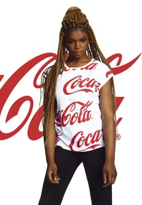 Merchcode MC139 - Ladies Coca Cola AOP Tee