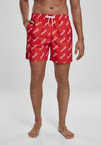 Merchcode MC530 - Coca Cola Logo AOP Swimshorts