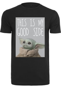 Merchcode MC563 - Camiseta Baby Yoda Good Side