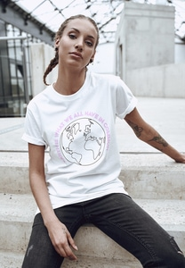 Mister Tee MT1147 - Ladies Planet Earth Tee