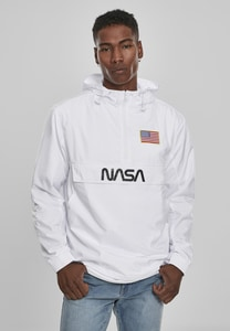 Mister Tee MT1163 - NASA Worm Logo Pull Over Jack