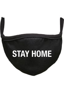 Mister Tee MT1357 - Stay Home  Face Mask