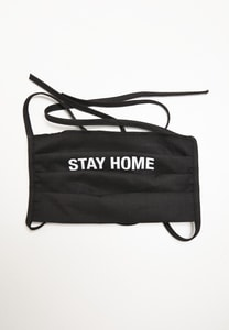 Mister Tee MT1369 - Stay Home Face Mask