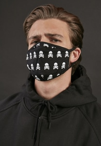 Mister Tee MT1377 - Skull Face Mask 2-Pack
