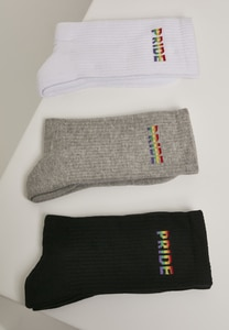 Mister Tee MT2027 - Pride Socks 3-Pack