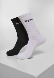 Mister Tee MT2044 - HI - Bye Socks short 2-Pack