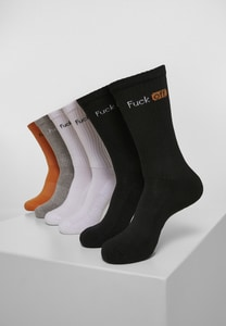 Mister Tee MT2059 - Fuck Off Socks 6-Pack