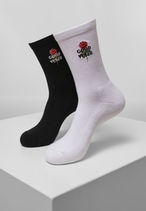 Mister Tee MT2074 - Good Vibes Socks 2-Pack