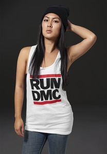 Mister Tee MT253 - Ladies Run DMC Logo Tank