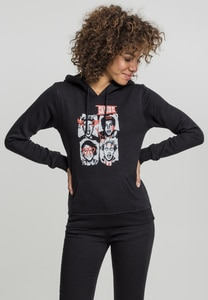 Merchcode MT463 - Ladies Five Seconds of Summer Faces Hoody