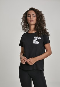 Mister Tee MT735 - Ladies Waiting For Friday Box Tee