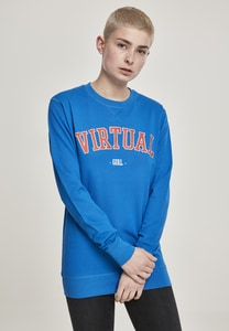 Mister Tee MT829 - Ladies Virtual Girl Crewneck