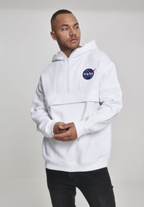Mister Tee MT861 - NASA Chest Embroidery Pull Over Hoody