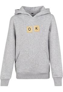 "Mister Tee MTK047 - Sweatshirt Criança ""OK"""