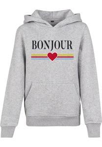"Mister Tee MTK048 - Sweatshirt Criança ""Bonjour"""