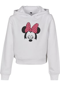 Mister Tee MTK068 - Kinder Minnie Mouse Bow Cropped Hoody