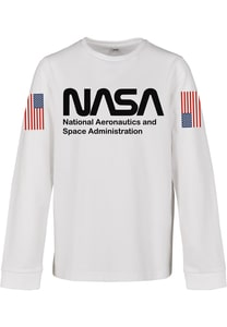 Mister Tee MTK071 - Kids NASA Worm Longsleeve