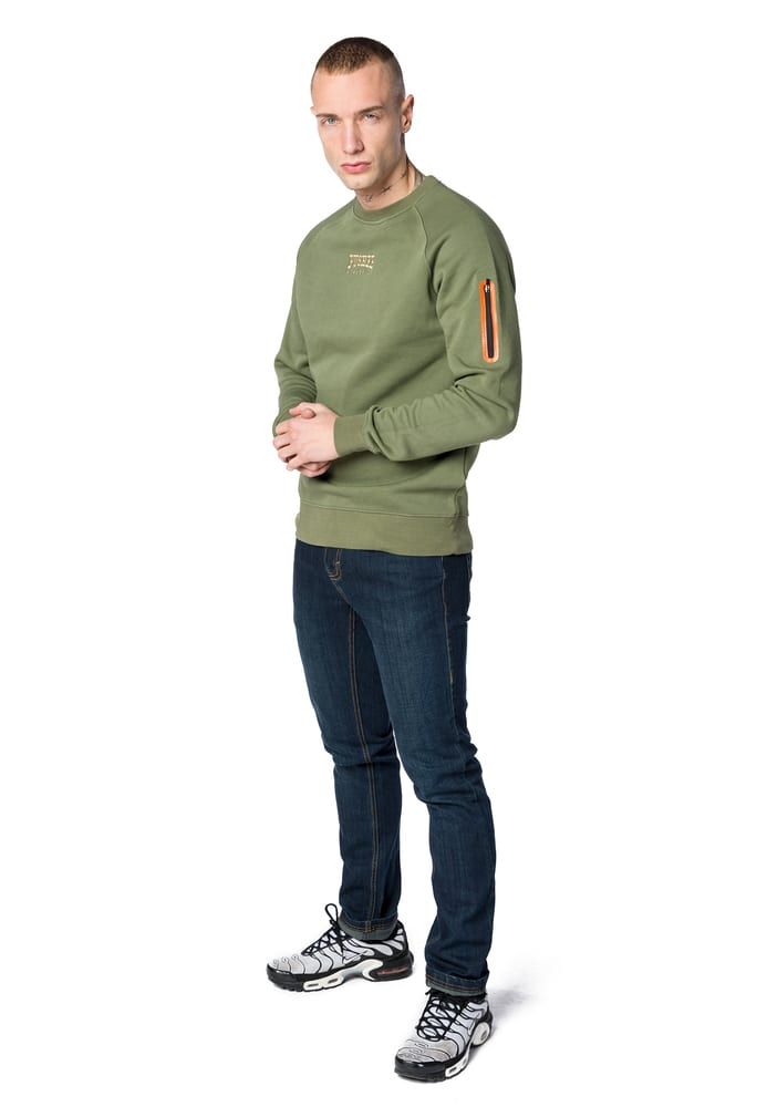 Pusher Apparel PU027 - Pusher Athletics Zip Sweater