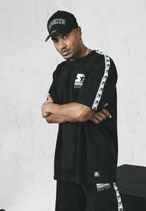 Starter Black Label ST020 - Taped Tee mit Starter-Logo
