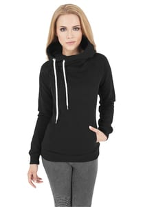 Urban Classics TB1076 - Ladies Raglan High Neck Hoody