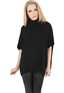 Urban Classics TB1078 - Ladies Knitted Poncho