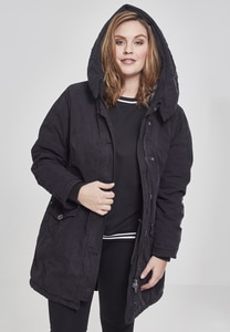 Urban Classics TB1088 - Ladies Garment Washed Long Parka