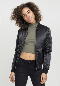 Urban Classics TB1279 - Ladies Satin Bomber Jacket