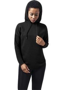 Urban Classics TB1323 - Ladies Quilt Oversize Hoody