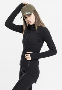 Urban Classics TB1325 - Ladies Athletic Interlock Zip Hoody