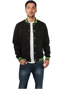 Urban Classics TB133 - Contrast College Sweatjacket