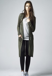 Urban Classics TB1343 - Ladies Fine Knit Long Cardigan