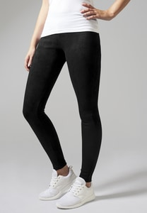 Urban Classics TB1357 - Ladies Imitation Suede Leggings