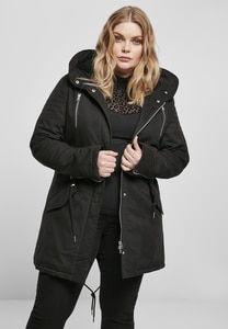 Urban Classics TB1370 - Parka donna Sherpa Lined Cotton