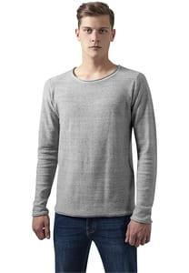 Urban Classics TB1424 - Fine Knit Melange Cotton Sweater