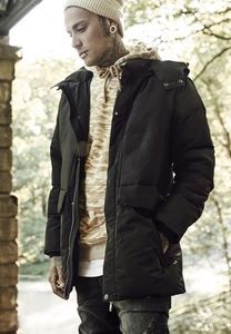 Urban Classics TB1460 - Heavy Long Bubble Jacket