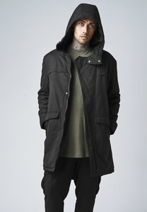 Urban Classics TB1461 - Parka in cotone Canvas