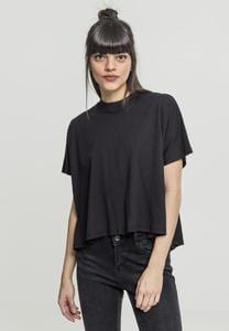 Urban Classics TB1503 - Ladies Overlap Turtleneck Tee