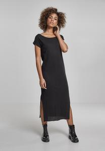 Urban Classics TB1513 - Ladies Slub Long Dress