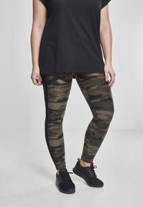 Urban Classics TB1530 - Leggings pour dames rayé camouflage