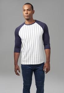 Urban Classics TB1567 - Camiseta de béisbol de manga 3/4 contraste