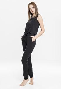 Urban Classics TB1630 - Ladies Tech Mesh Long Jumpsuit